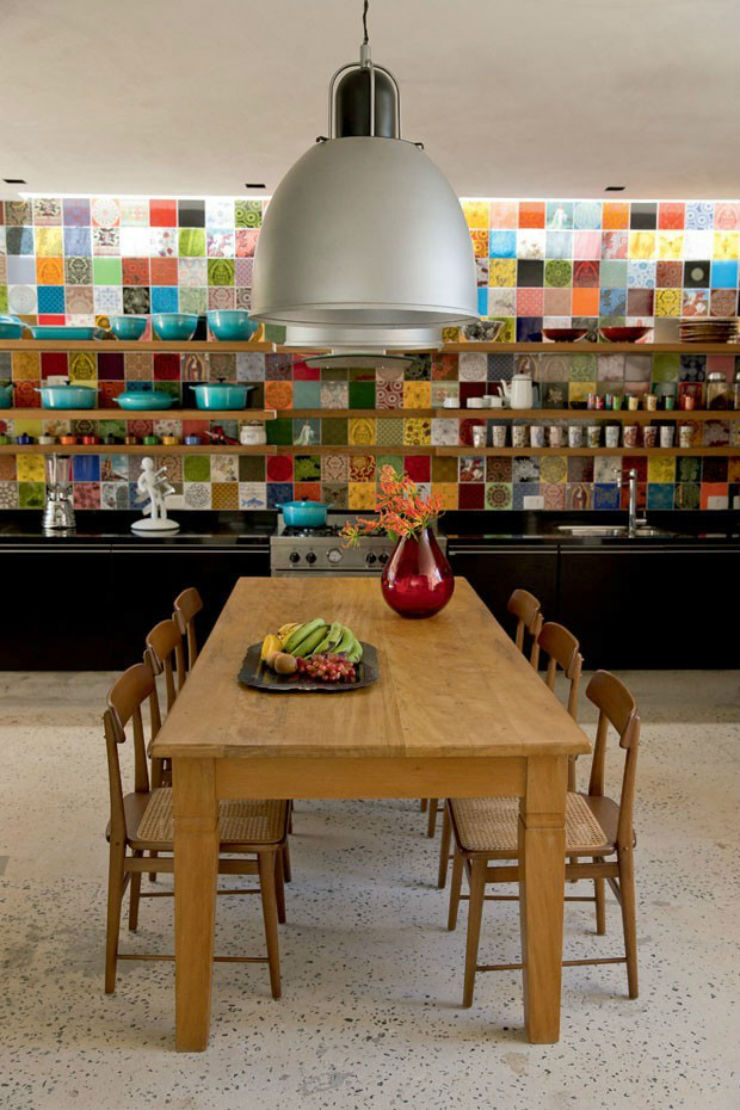 """""""Cozinha de sonho colorida.""""  Decoração pra Casa: Top 10 Cozinhas de sonho cozinha de sonho3"""