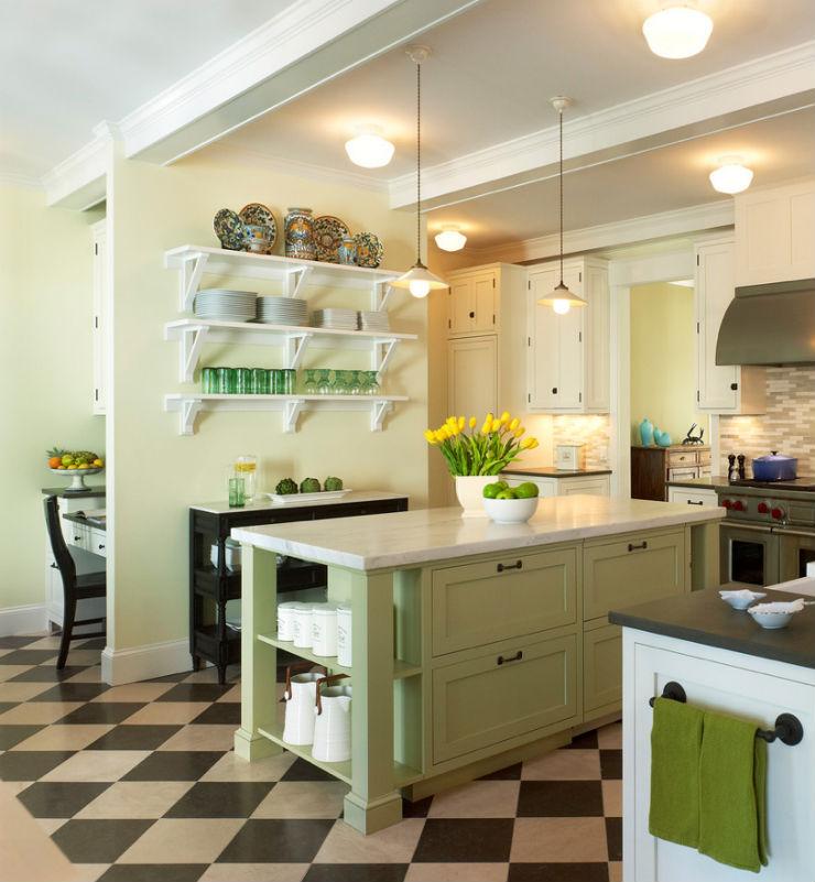 """""""Cozinha de sonho em tons de verde.""""  Decoração pra Casa: Top 10 Cozinhas de sonho cozinha de sonho8"""