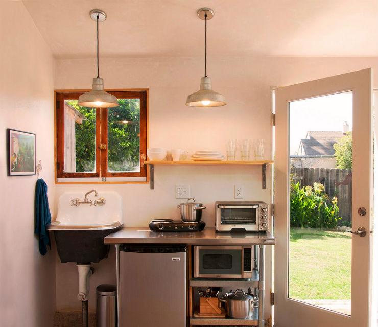 """""""Ideia de design para cozinha pequena""""  5 ideias de design para cozinhas pequenas cozinha pequena2"""