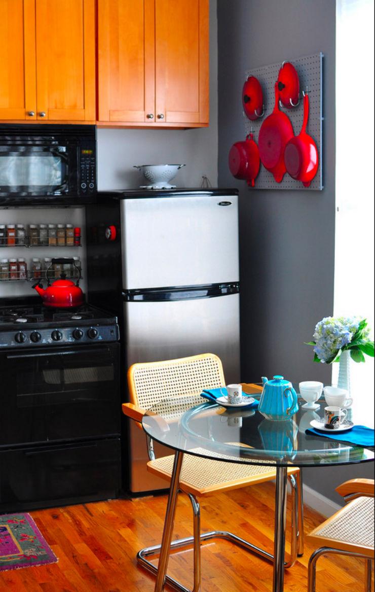 """""""Ideia de design para cozinha pequena""""  5 ideias de design para cozinhas pequenas cozinha pequena4"""