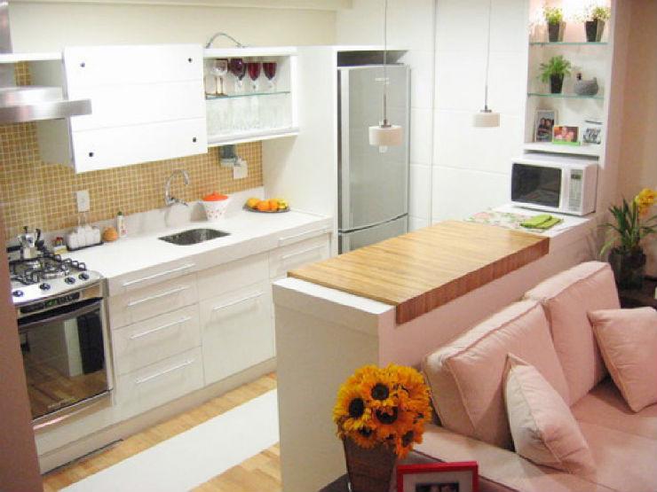 """""""Ideia de design para cozinha pequena""""  5 ideias de design para cozinhas pequenas cozinha pequena5"""