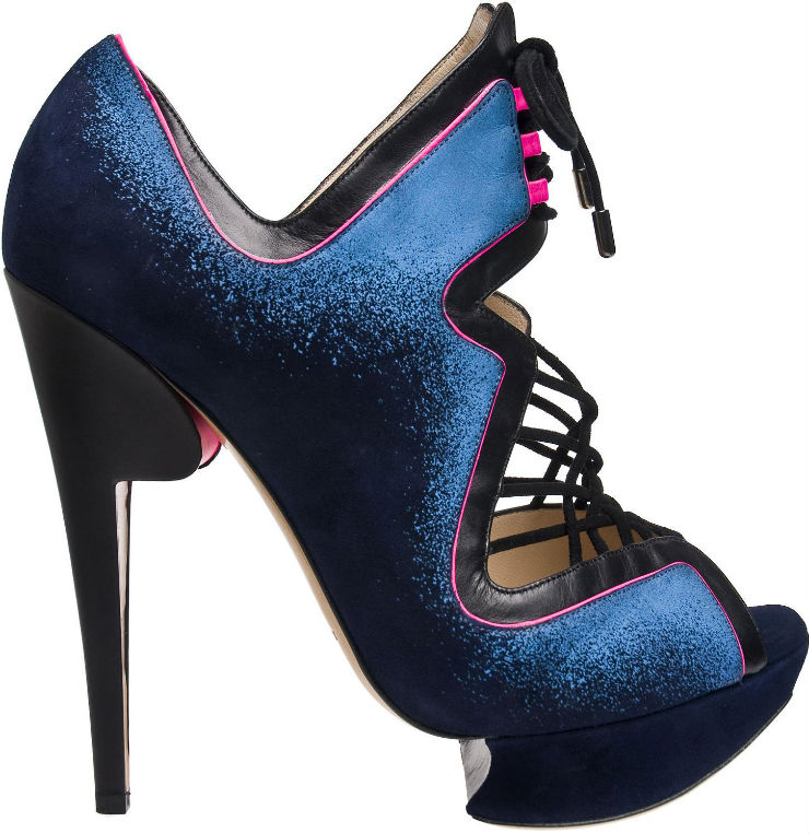 """Nicholas Kirkwood""  Top 10 marcas de sapatos de luxo do mundo kkirkwoodblack"