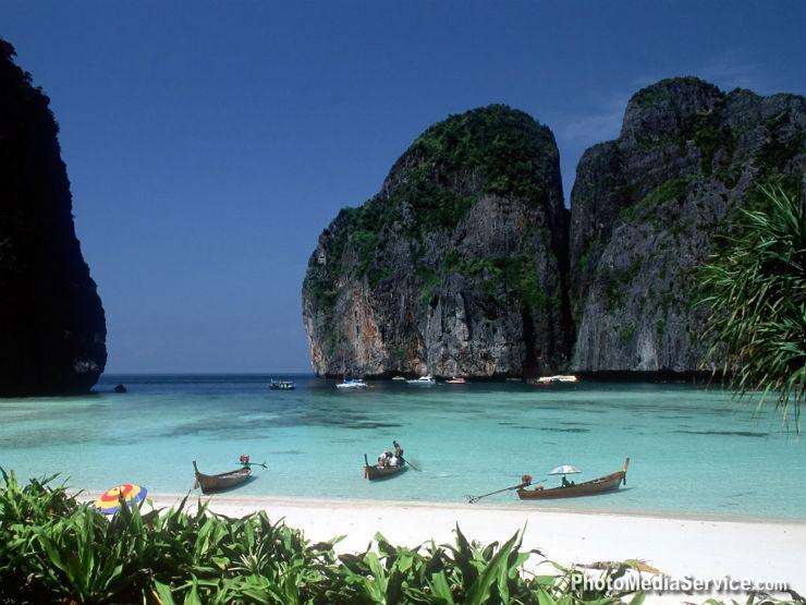 """""""Ilhas Phi Phi na Tailândia""""  Lifestyle: 10 dicas sobre a Tailândia phi phi tailandia"""