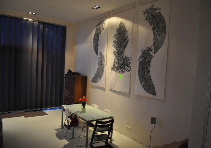 """sala de estar inspirada no Carnaval""  Top salas com decoração inspirada no Carnaval sala carnaval2"
