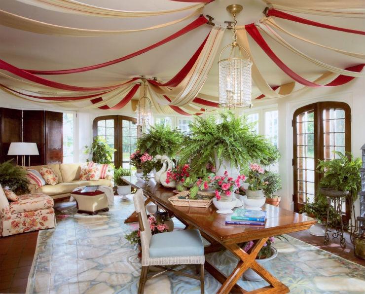 """sala de estar inspirada no Carnaval""  Top salas com decoração inspirada no Carnaval sala carnaval8"