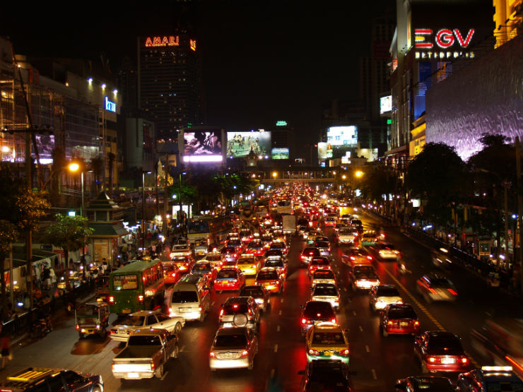 """""""Vida nocturna em Bangkok""""  Lifestyle: 10 dicas sobre a Tailândia vidanoturna tailandia"""