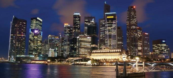 """""""Cingapura à noite"""""""