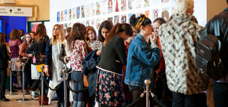 """""""Fila pro Vogue festival""""  MODA: Vogue Festival 2014 ou o melhor da moda em Londres Voguefest"""