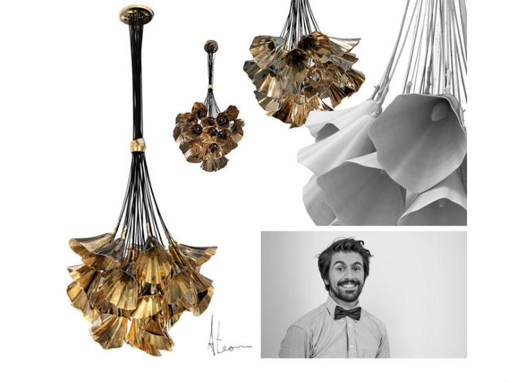 """""""André Teoman é o Bright Young Designer da Light + Building""""  5 Luminárias diferentes para a sua sala ateoman"""