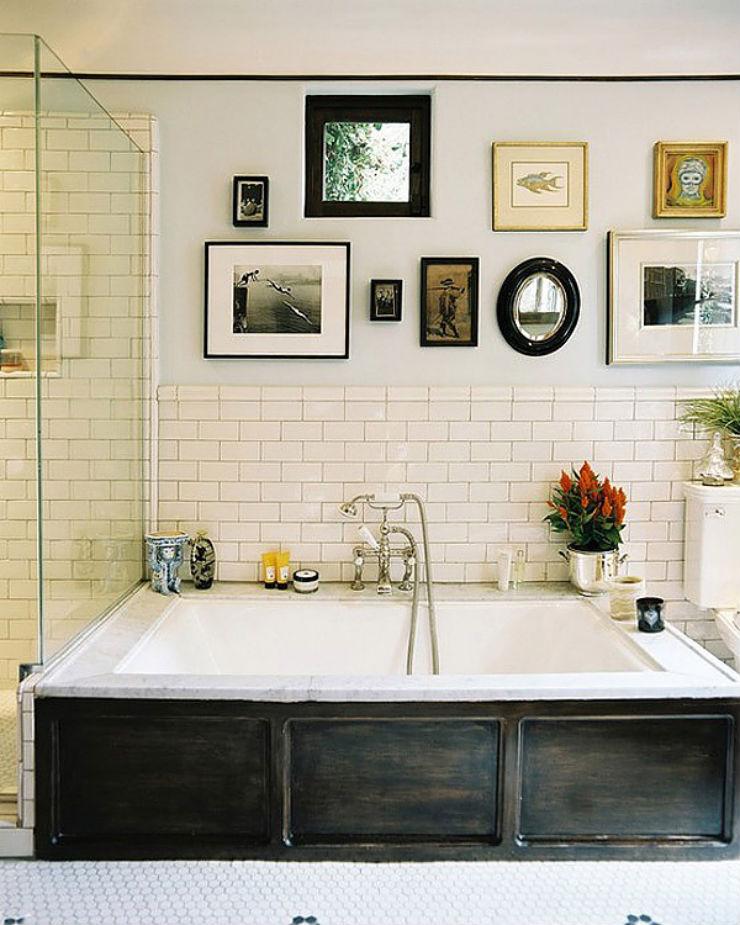 """""""Banheiro com fotos""""  O desafio da lente: decorar com fotografia banheirocomfotos"""