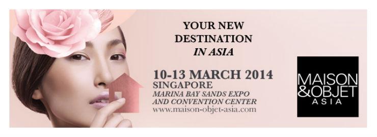 """""""Maison & Object Asia 2014""""  Cingapura: o lado exótico do Design  maisonobjectasia"""