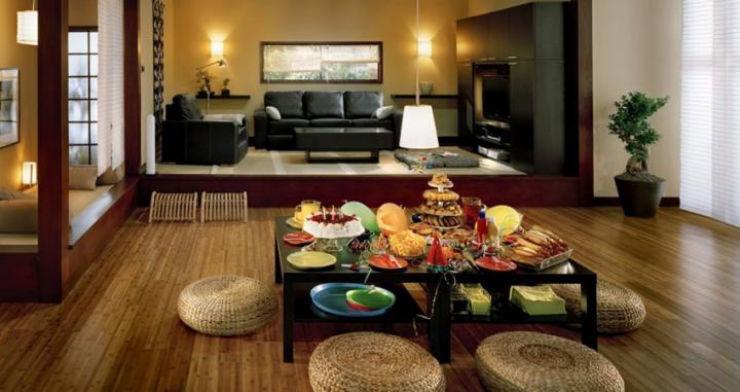 """""""Casa com decor oriental""""  Dicas para uma decoração com influência oriental mobiliario japones"""