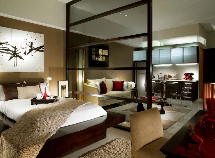 """""""Casa com decor oriental""""  Dicas para uma decoração com influência oriental mobiliario oriental"""