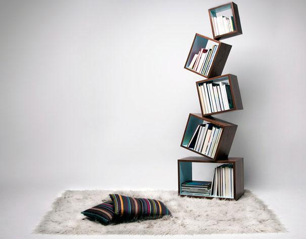 """""""Estante de livros criativas""""  Top 10 estantes de livros criativas creative bookshelves 1 1"""