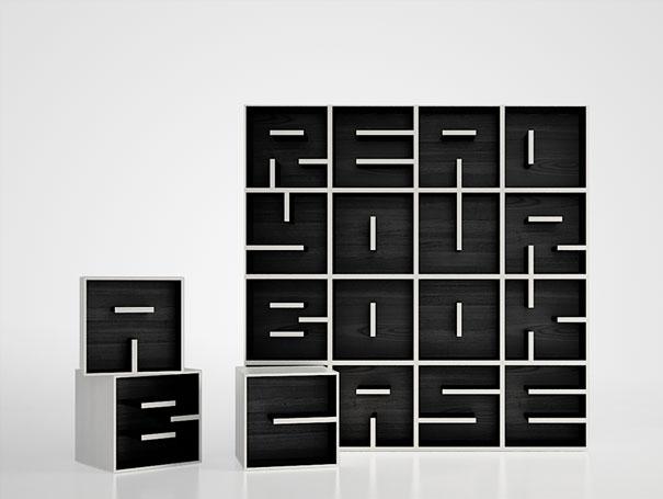 """""""Estante de livros criativas""""  Top 10 estantes de livros criativas creative bookshelves 11 1"""