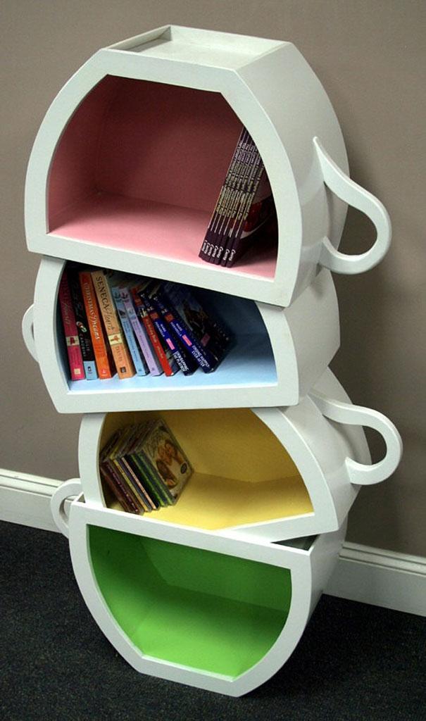 """""""Estante de livros criativas""""  Top 10 estantes de livros criativas creative bookshelves 16 1"""