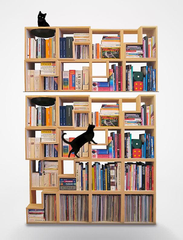 """""""Estante de livros criativas""""  Top 10 estantes de livros criativas creative bookshelves 21 1"""