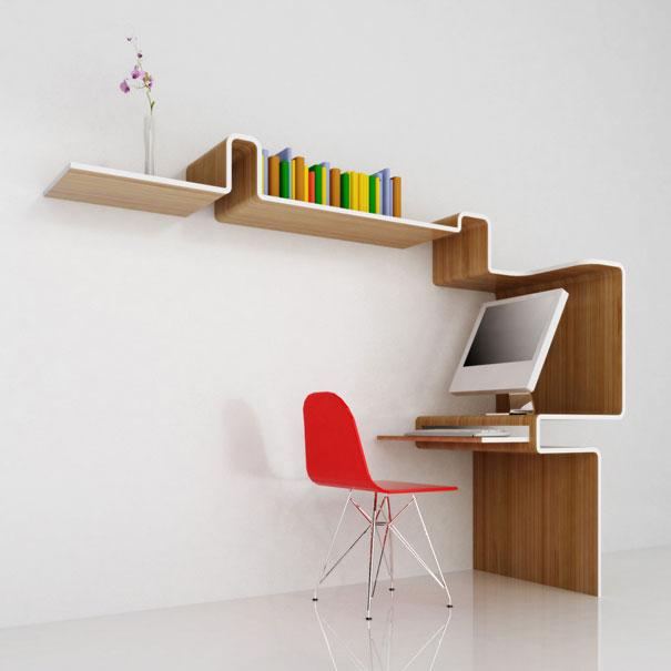 """""""Estante de livros criativas""""  Top 10 estantes de livros criativas creative bookshelves 6 1"""