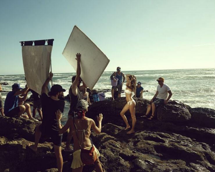 """Gisele na campanha da H&M""  Gisele Bündchen canta no novo anúncio da H&M hm gisele"
