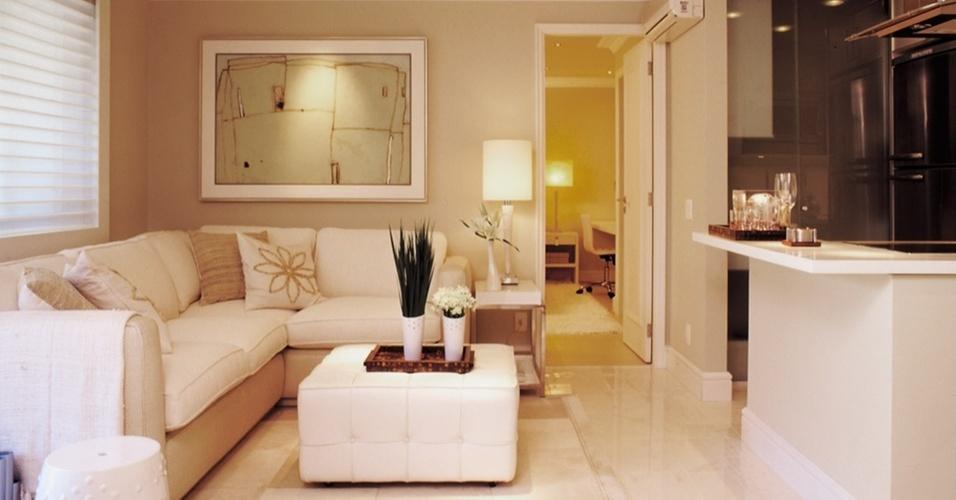 Sala De Estar Pequena Como Decorar ~ pequenas Decoração Como decorar uma sala pequena sala de estar de