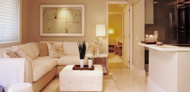 """""""Sala de estar pequena, como decorar"""""""