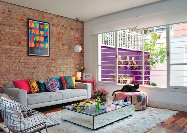 """""""Decoração de salas pequenas""""  Decoração: Como decorar uma sala pequena sala pequena"""