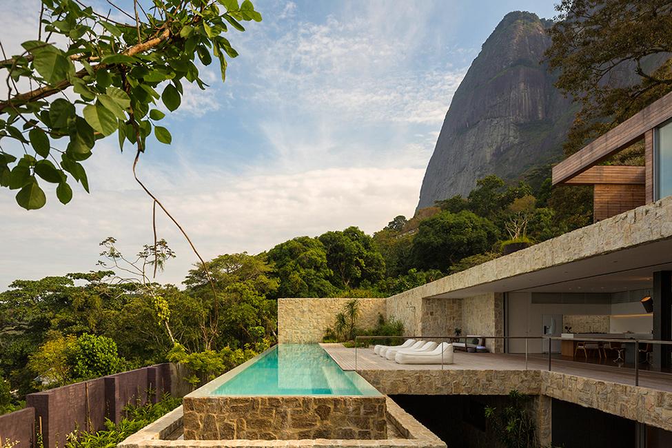 """Casa de sonho no Brasil""  Arquitetura: Casa de sonho de Alex Lerner na Freshome Luxury Villa in Brazil by Studio Arthur Casas 1"