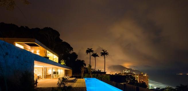 """Casa de sonho no Brasil""  Arquitetura: Casa de sonho de Alex Lerner na Freshome Luxury Villa in Brazil by Studio Arthur Casas 10 655x320"