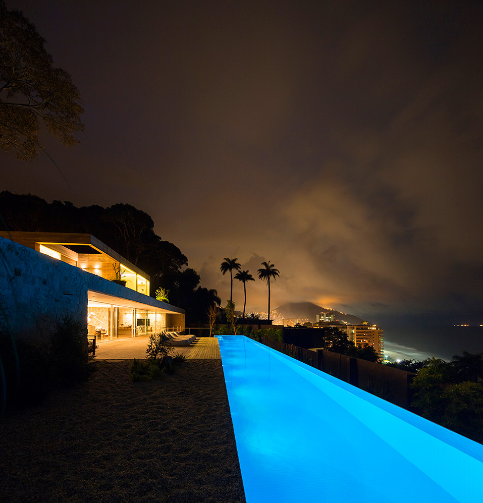 """Casa de sonho no Brasil""  Arquitetura: Casa de sonho de Alex Lerner na Freshome Luxury Villa in Brazil by Studio Arthur Casas 10"