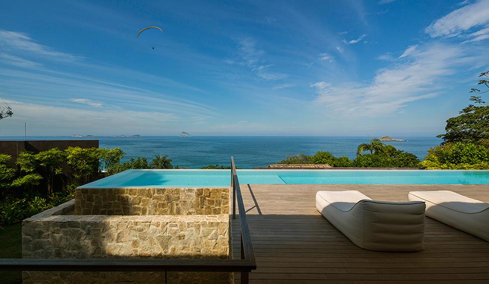 """Casa de sonho no Brasil""  Arquitetura: Casa de sonho de Alex Lerner na Freshome Luxury Villa in Brazil by Studio Arthur Casas 2"
