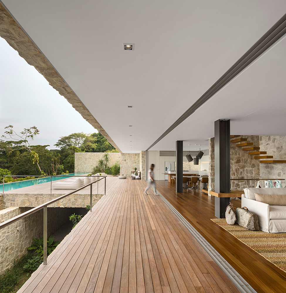 """Casa de sonho no Brasil""  Arquitetura: Casa de sonho de Alex Lerner na Freshome Luxury Villa in Brazil by Studio Arthur Casas 3"
