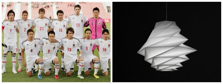 """""""Japão e Artemide""""  Copa do Mundo: uma luminária para cada equipe artemide jap"""