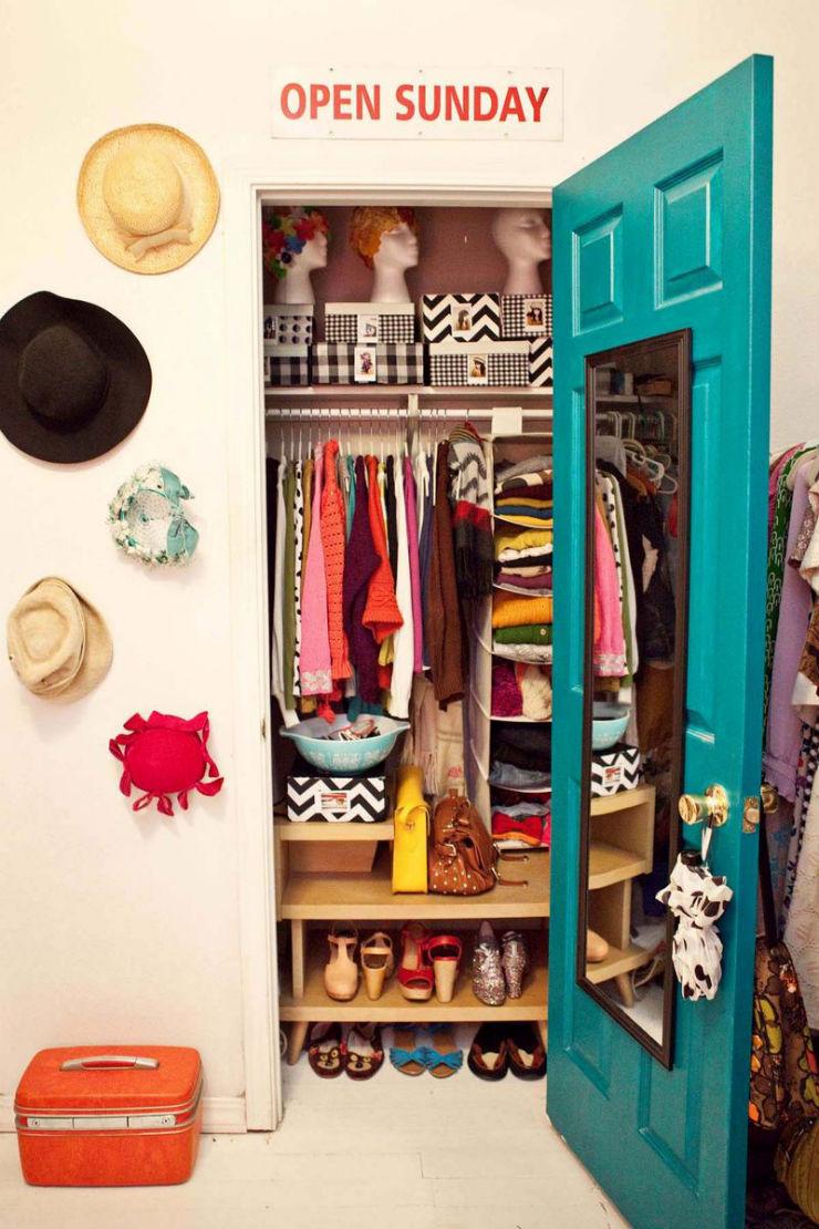 """""""como montar o seu closet""""  Como fazer um closet: tenha o guarda-roupa dos seus sonhos closet4"""