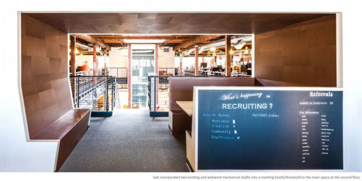 """""""Escritórios do Pinterest""""  Arquitetura e Decoração: os escritórios do Pinterest pinterest 05"""