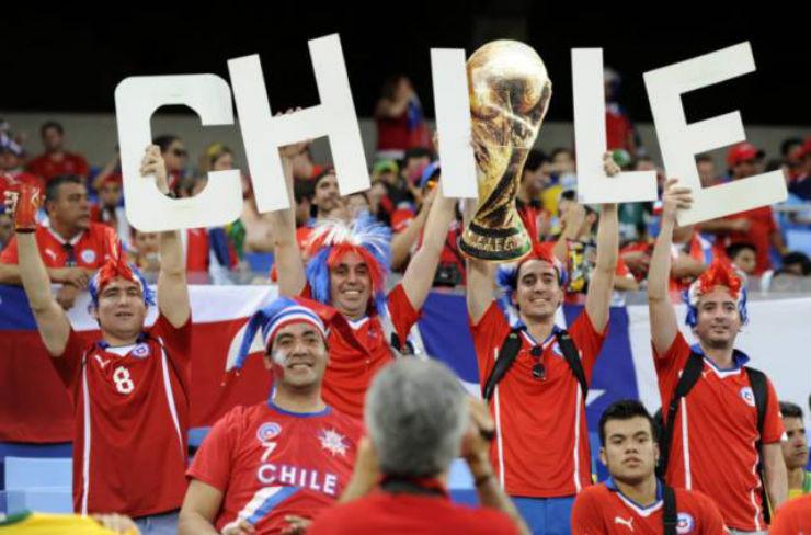 Chile  As melhores torcidas da Copa do Mundo Chile
