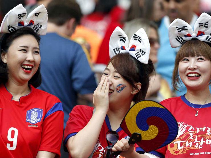 """""""Torcidas na Copa do Mundo 2014""""  As melhores torcidas da Copa do Mundo Coreia"""