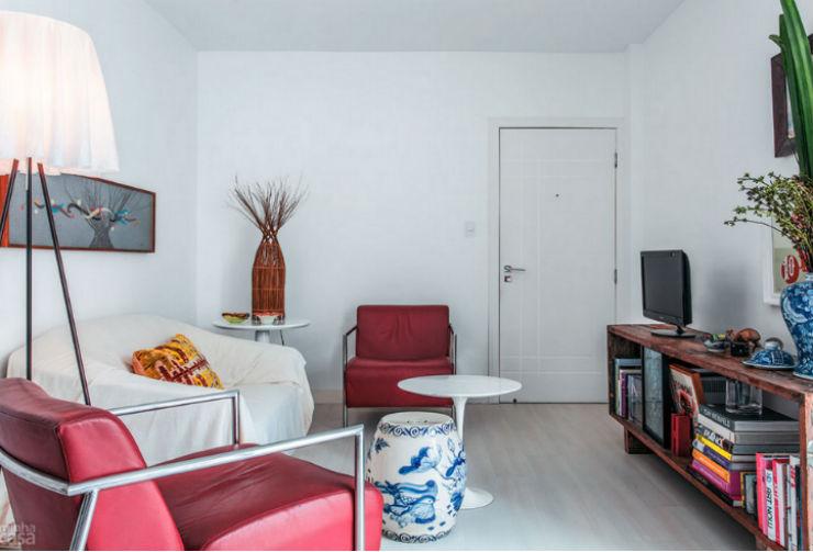 """""""Apartamento de arquiteto""""  O apartamento artístico do arquiteto Maurício Pinto  ap arq"""
