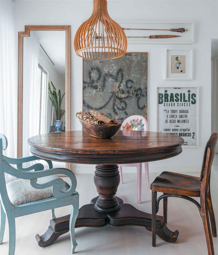 """""""Apartamento de arquiteto""""  O apartamento artístico do arquiteto Maurício Pinto  ap arq1"""