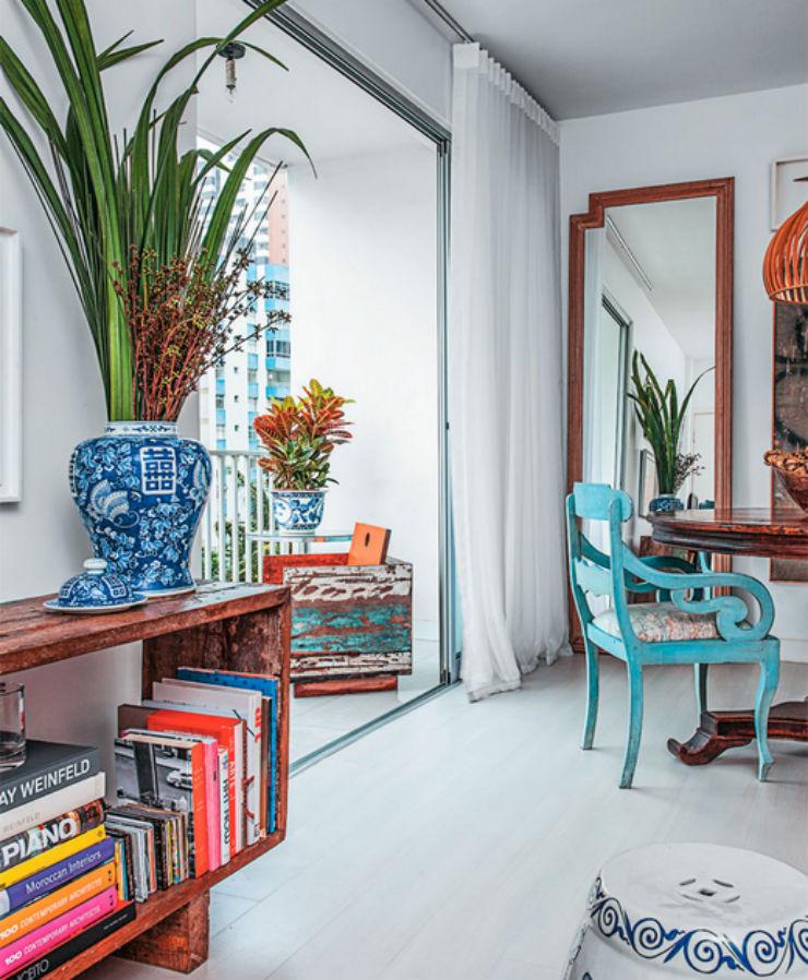 """""""Apartamento de arquiteto""""  O apartamento artístico do arquiteto Maurício Pinto  ap arq2"""