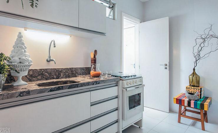 """""""Apartamento de arquiteto""""  O apartamento artístico do arquiteto Maurício Pinto  ap arq3"""