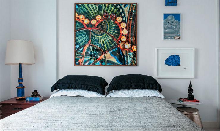 """""""Apartamento de arquiteto""""  O apartamento artístico do arquiteto Maurício Pinto  ap arq4"""