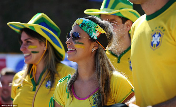 """""""Torcidas na Copa do Mundo 2014""""  As melhores torcidas da Copa do Mundo brasil1"""
