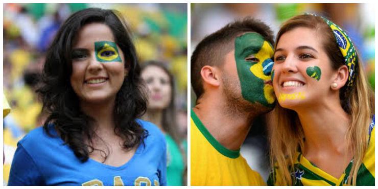 """Make up para a Copa""  Fique deslumbrante para a Copa: as melhores dicas de make caracopa"