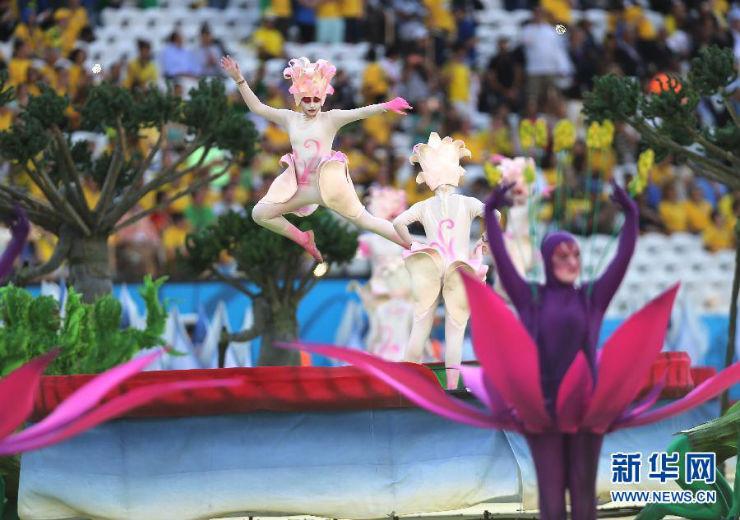 """""""Cerimónia de Abertura da Copa do Mundo 2014""""  Copa do Mundo: os melhores e piores momentos da abertura copa do mundo2014 2"""