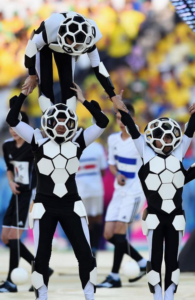 """""""Cerimónia de Abertura da Copa do Mundo 2014""""  Copa do Mundo: os melhores e piores momentos da abertura copa do mundo2014 20"""