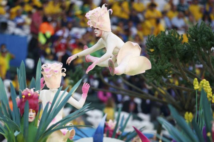 """""""Cerimónia de Abertura da Copa do Mundo 2014""""  Copa do Mundo: os melhores e piores momentos da abertura copa do mundo2014 3"""