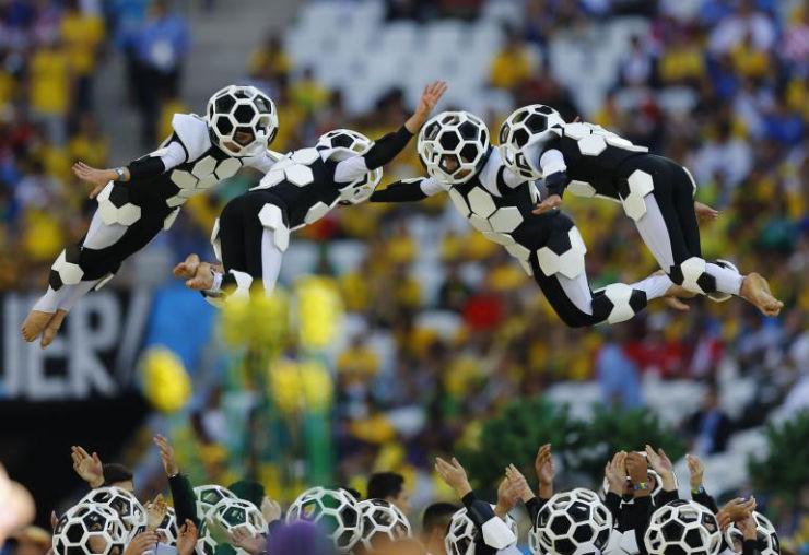 """""""Cerimónia de Abertura da Copa do Mundo 2014""""  Copa do Mundo: os melhores e piores momentos da abertura copa do mundo2014 4"""