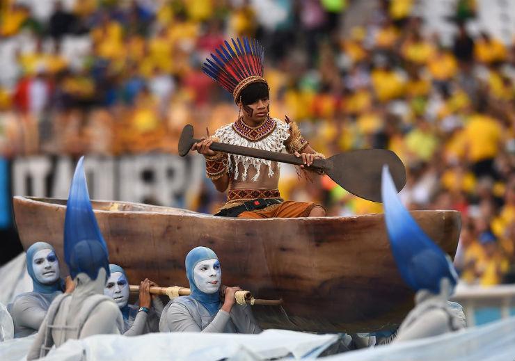 """""""Cerimónia de Abertura da Copa do Mundo 2014""""  Copa do Mundo: os melhores e piores momentos da abertura copa do mundo2014 9"""