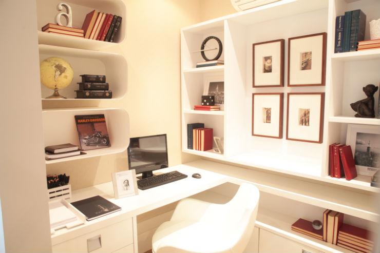 """""""Decoração de escritório""""  Top 10 escritórios para você se sentir inspirado a trabalhar escritorio1"""