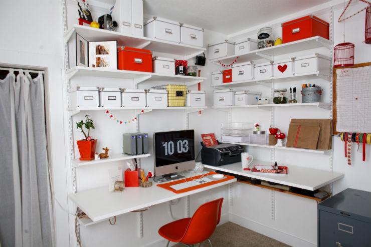 """""""Decoração de escritório""""  Top 10 escritórios para você se sentir inspirado a trabalhar escritorio3"""